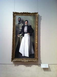 Mr. & Mrs. Isaac Newton Phelps Stokes by John Singer Sargent